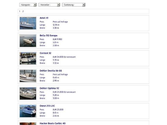 Screenshot von http://www.boat24.info/customer/hurricane/